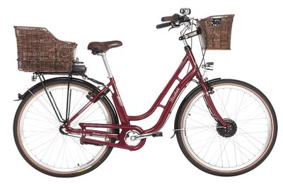Fischer E Bike Damen City Fahrrad 28 Retro ER 1804 S1